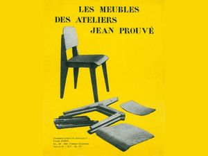 VG_Bildkunst_Bonn_CATALOGUE_DE_MOBILIER_DES_ATELIERS_JEAN_PROUVE_1951_COLLECTION_ALEXANDER_VON_VEGESACK