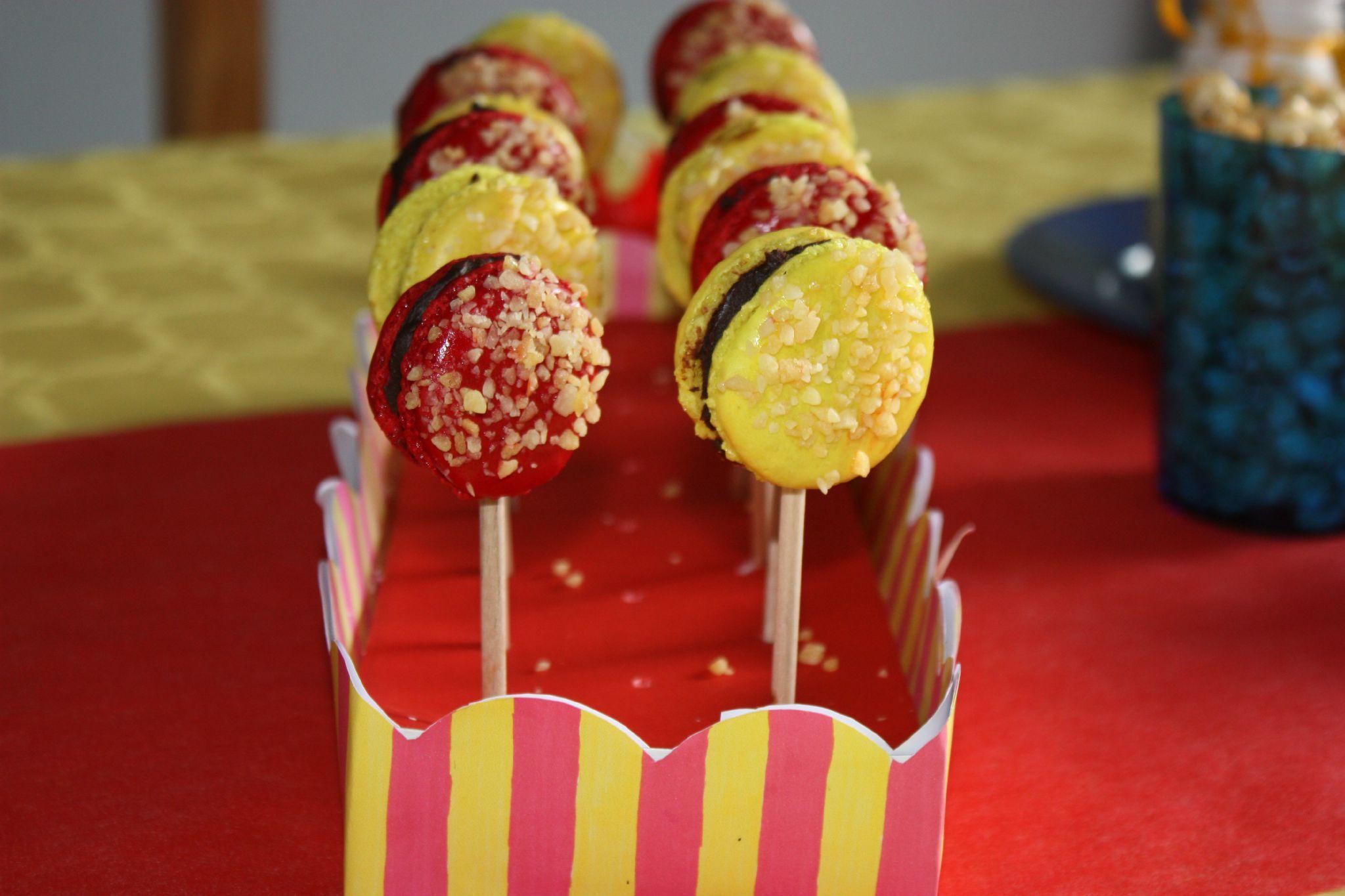 gouter anniversaire theme cirque
