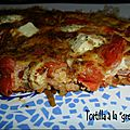 Tortilla à la grecque