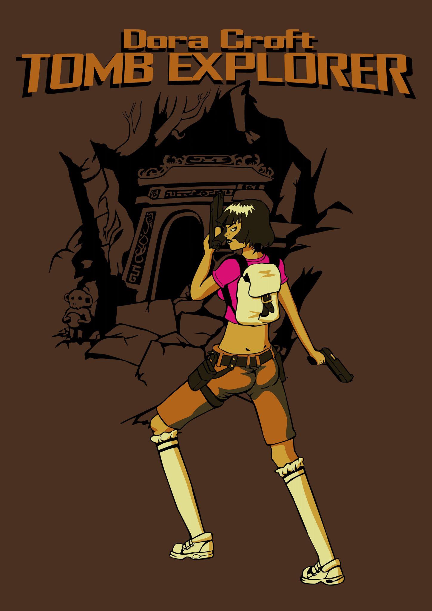 dora croft tshirt1