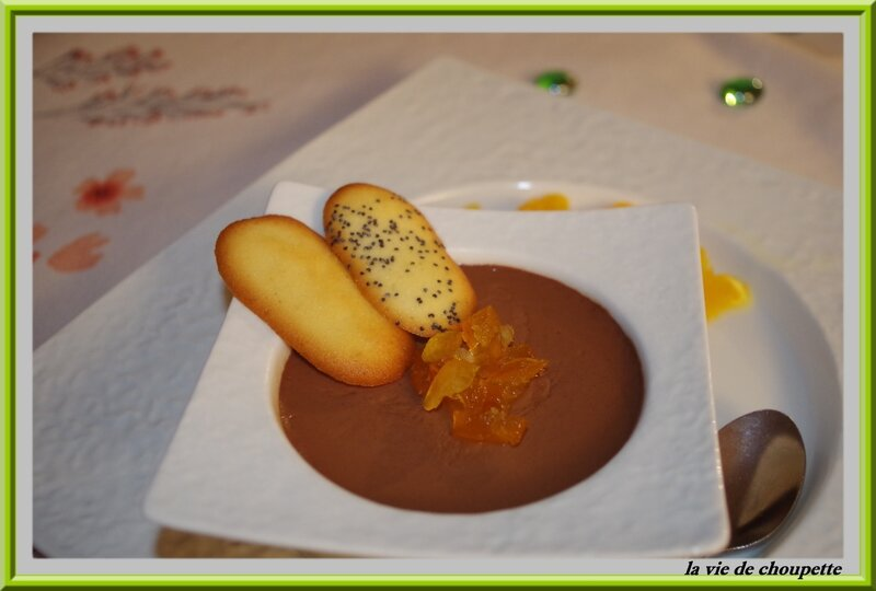Pots De Creme A L'Orange Recipe — Dishmaps