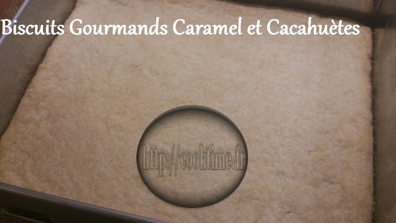 Biscuits Gourmands Caramel et cacahuètes au Thermomix 5