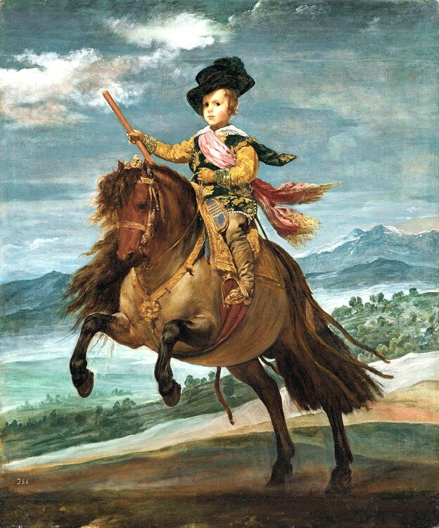 Carlos Balthasar sur son poney Vélasquez