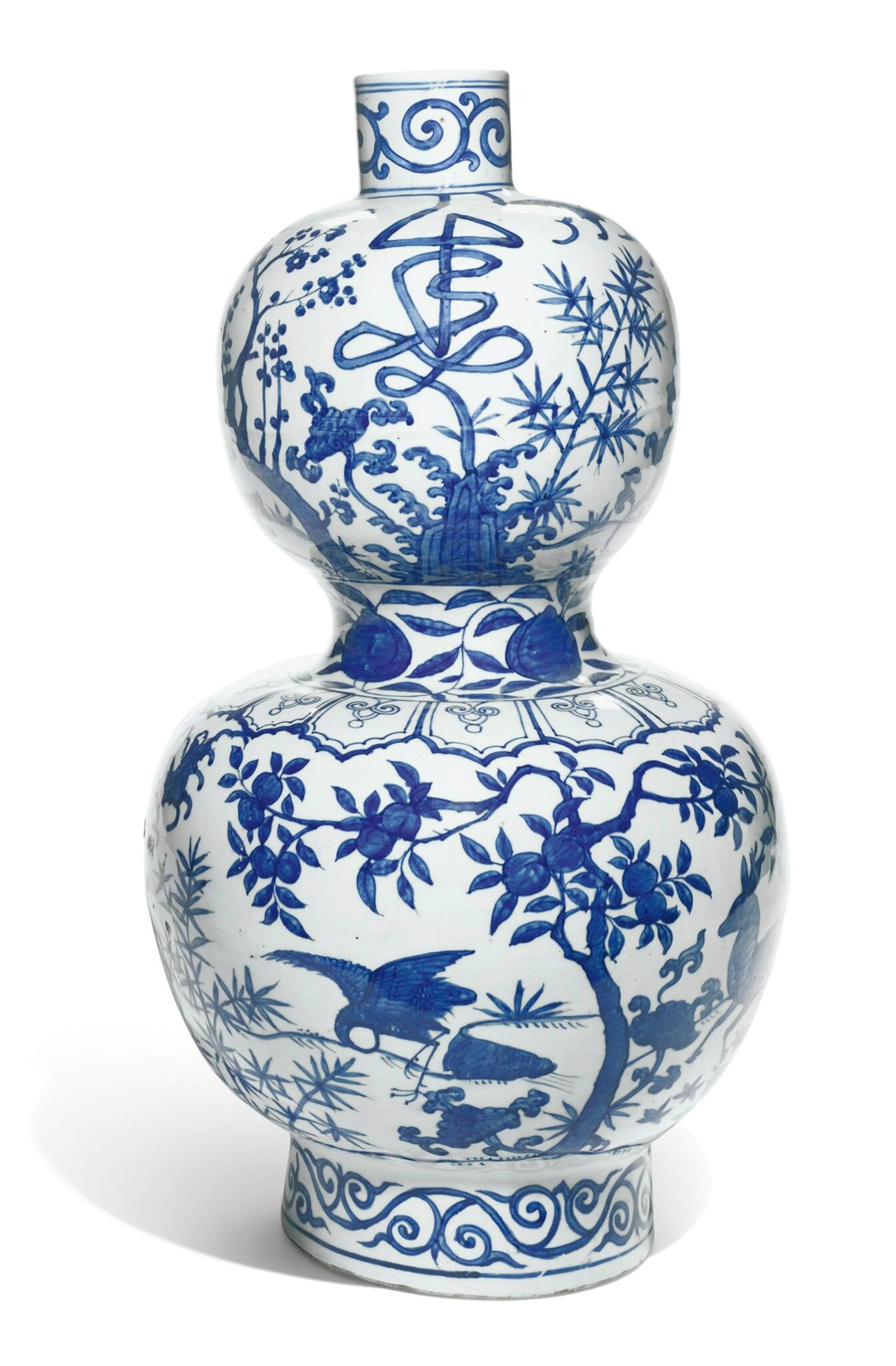 A large blue and white double gourd vase jiajing mark and period a large blue and white double gourd vase jiajing mark and period 1522 1566 reviewsmspy