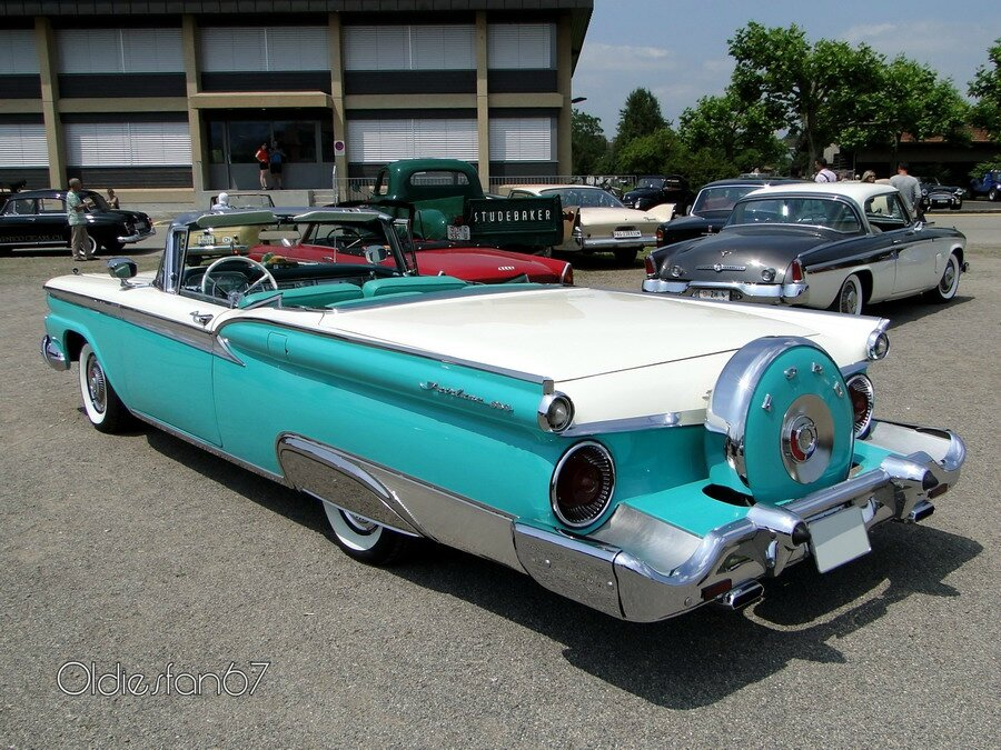 Honda Of Ithaca >> Ford Fairlane 500 Skyliner Continental Kit, 1959 ...