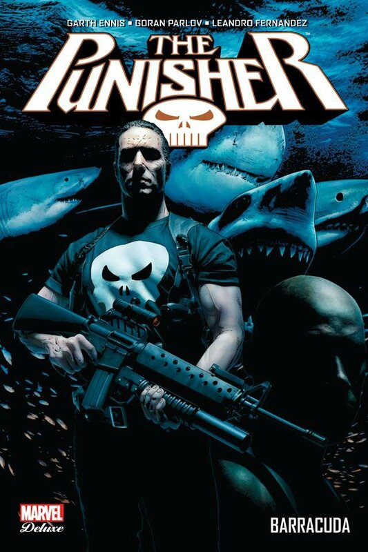 marvel deluxe punisher max 04 barracuda