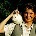 Simba, le lapin blanc