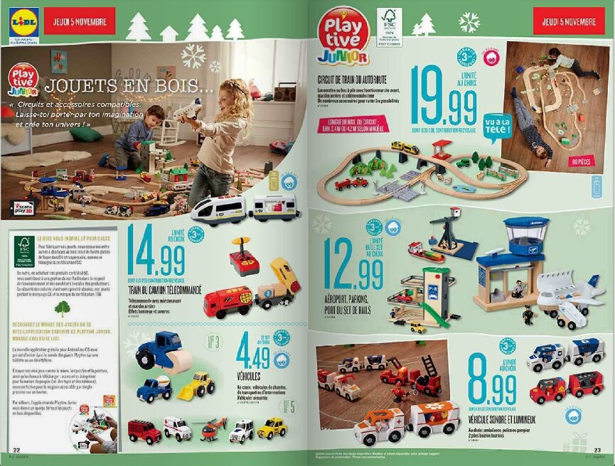 la hotte du p re no l chez lidl le catalogue de jouets. Black Bedroom Furniture Sets. Home Design Ideas