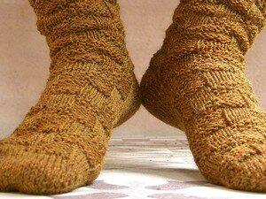 chaussettes d'automne