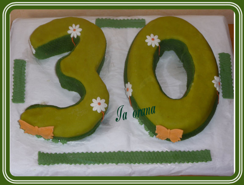Gâteau nombres/Numbers cake