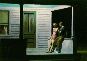 Edward Hopper, Summer-evening