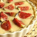 TARTE FIGUES & SIROP D'ORGEAT