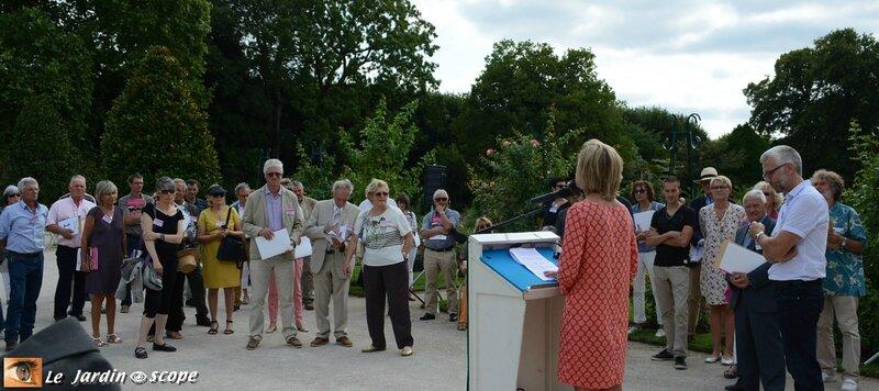 Concours international de roses d'Orléans 2016