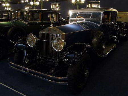 ROLLS ROYCE Berline Phantom I 1928 Musée National de l'Automobile de Mulhouse, collection Schlumpf 2