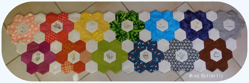 Hexi Table runner (1)