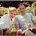 Juillet 1956 marilyn et arthur en angleterre