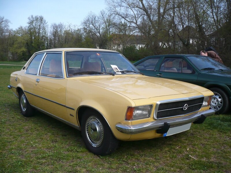 OPEL Rekord D 1900 Automatic Berlina 2 portes 1975 Ludwigshafen (1)