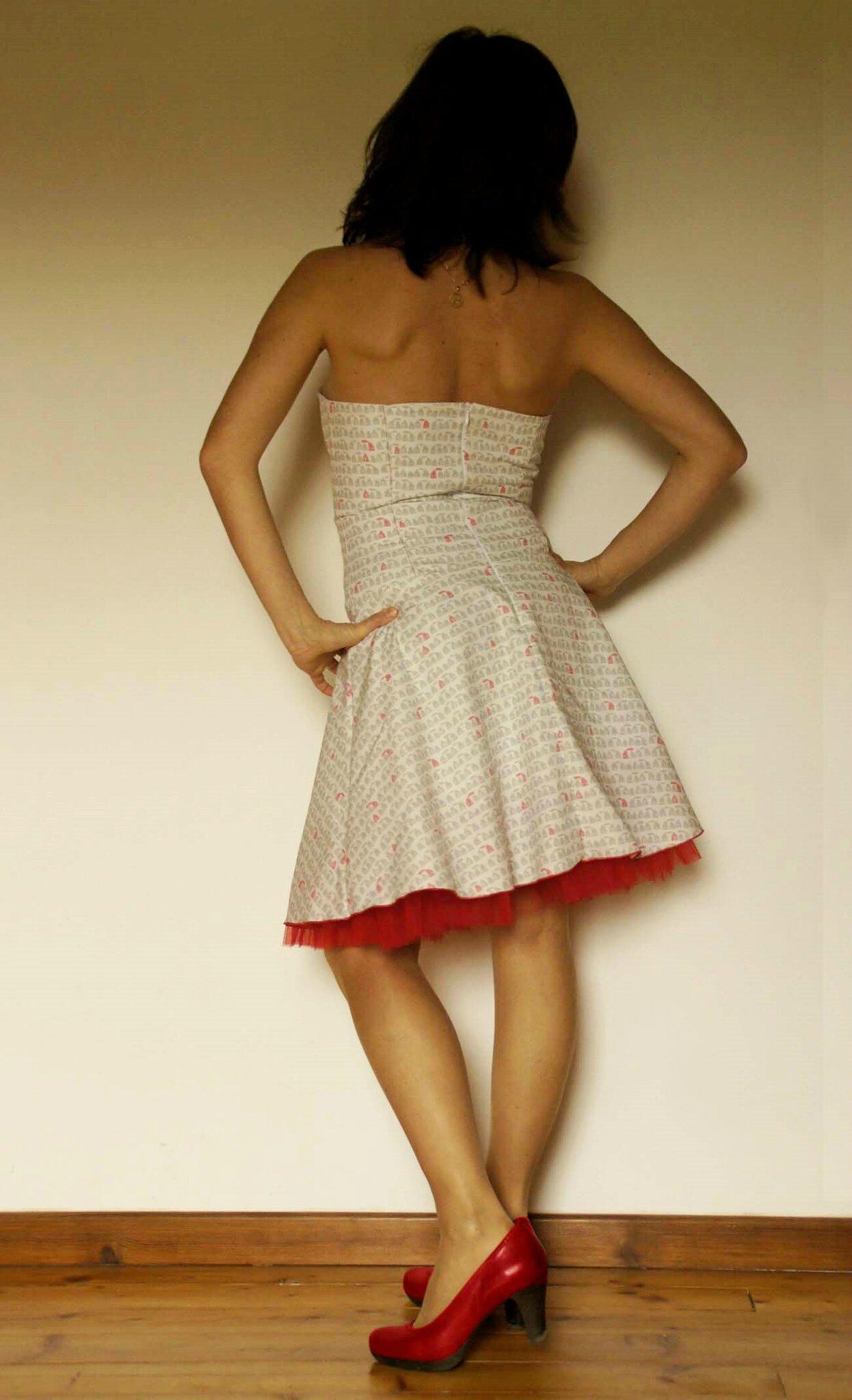 Ma robe de princesse... (petite folie couturesque)
