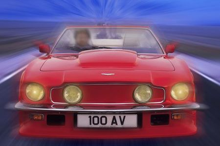 1987 V8 Vantage Volante front
