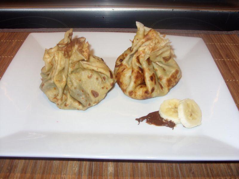aum 244 ni 232 re de cr 234 pes chocolat banane la cuisine de karinette