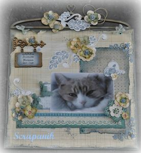 page scrap shabby