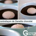 Contrefaon de Danette chocolat