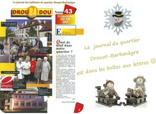 Quartier Drouot-Barbanègre - Journal DrouBAdou