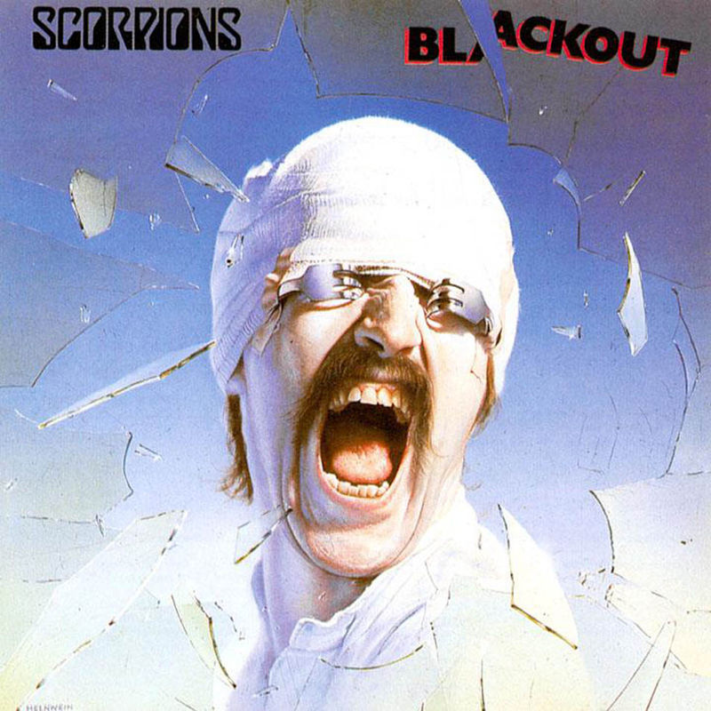 Quot Blackout Quot Scorpions Rock Fever