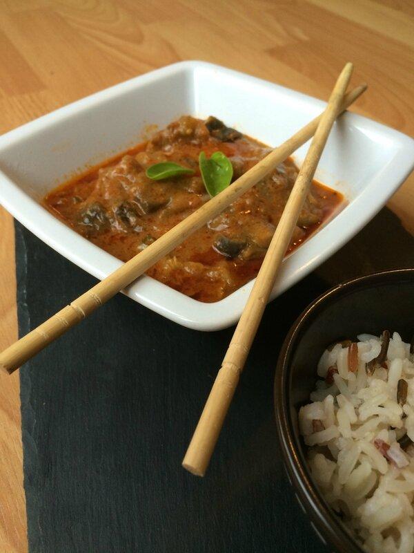 Curry rouge au porc 1