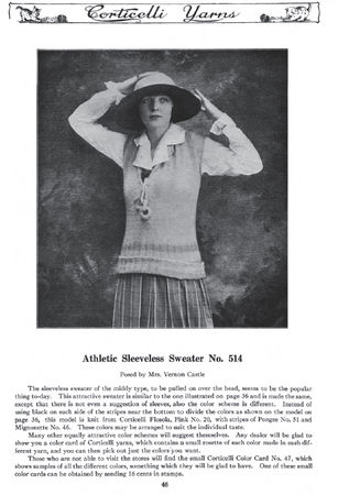 Athletic Vest 1917