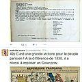 L'histoire et twitter