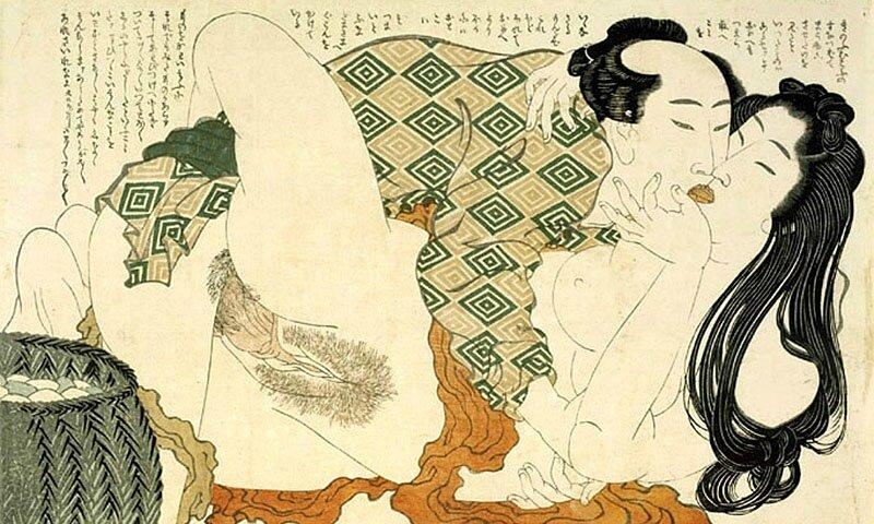 Katsushika Hokusai Shunga 10