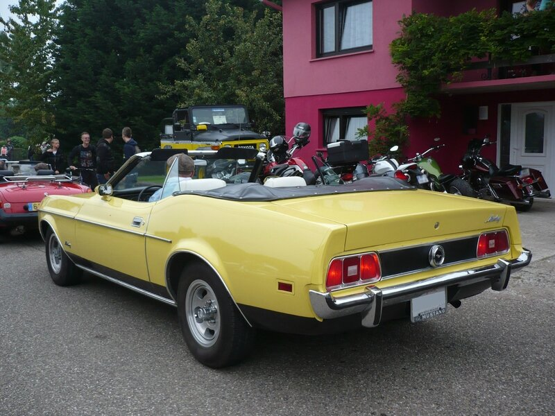 FORD Mustang 2door convertible 1973 Hambach (2)