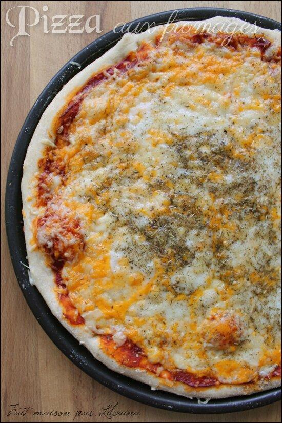 Pâte à pizza moelleuse et croustillante...