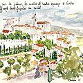 Gordes : le village sur la falaise