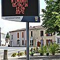 CAUDROT, Place des Tilleuls, 5 juin 2016