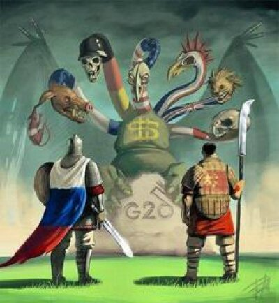 Russie contre occident