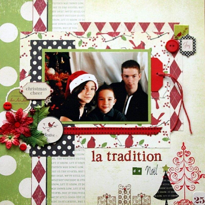 la tradition de Noël