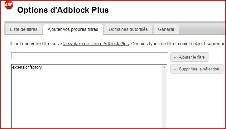 Tutoriel Adblock Plus