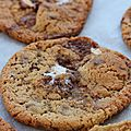 S'mores stuffed cookies.