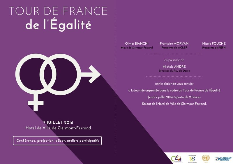 Invitation Tour de France Egalité