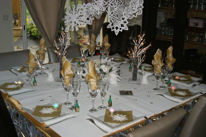 Ma d co de table pour le 31 d cembre valypassions for Decoration 31 decembre