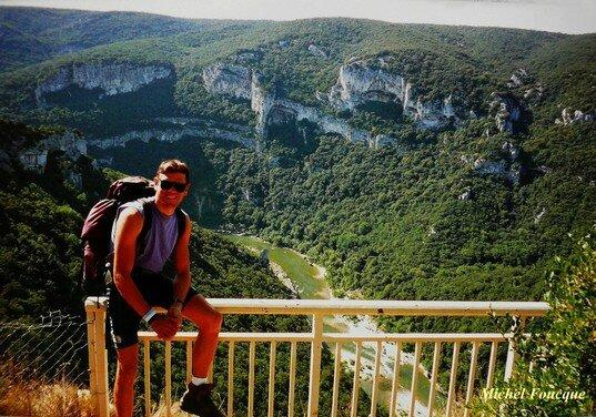 1262) Balade pédestre aux Gorges de l'Ardèche