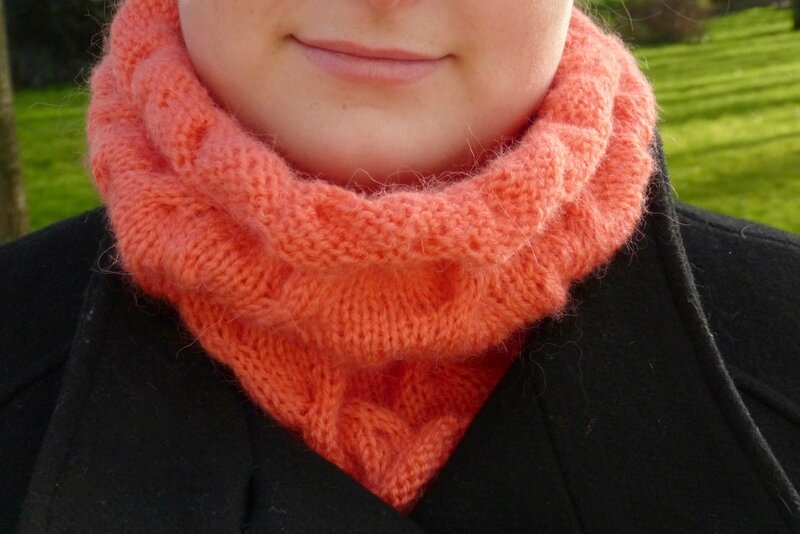 snood cloud corail (3)