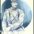 Portrait de françois louchart. soldat au 72ème ri.