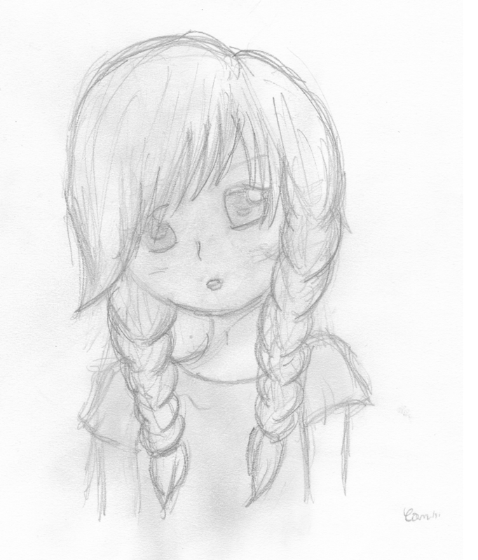 Dessin Simple D Une Fille
