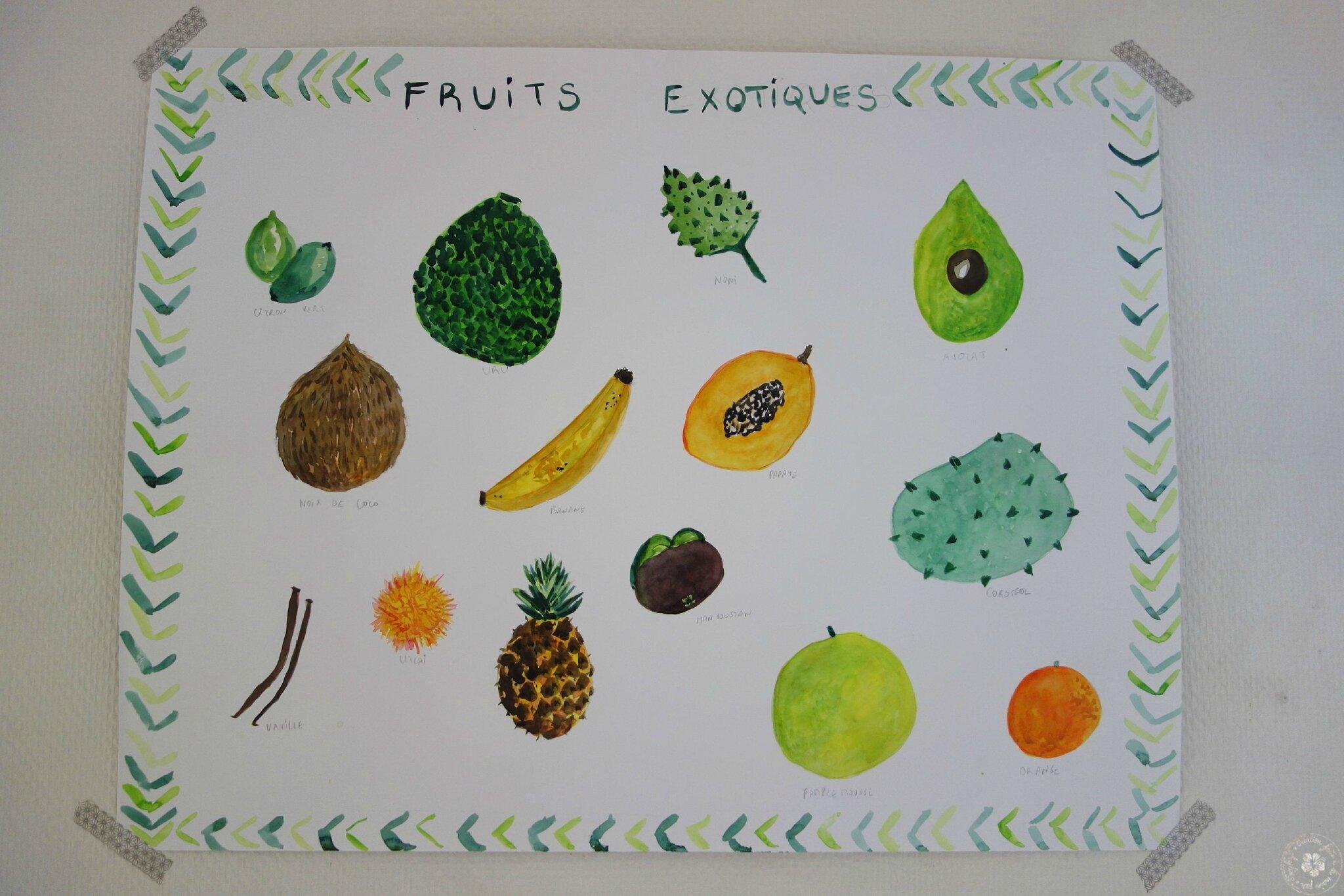 format raisin pour ces fruits exotiques les cr ations d 39 aylin. Black Bedroom Furniture Sets. Home Design Ideas