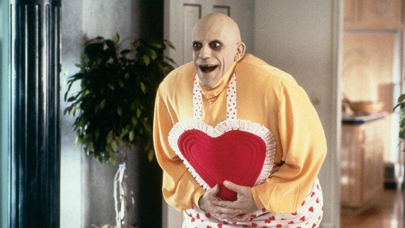Christopher Lloyd dans le rôle de Oncle Fétide Addams