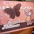 Carte d'anniversaire : 5 ans