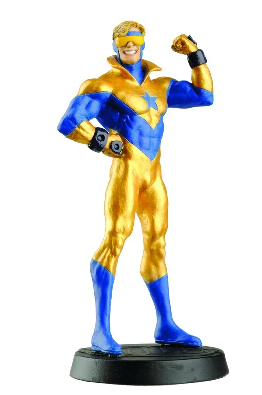 eaglemoss DC booster gold
